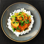 Kuře Tikka Masala s basmati rýží