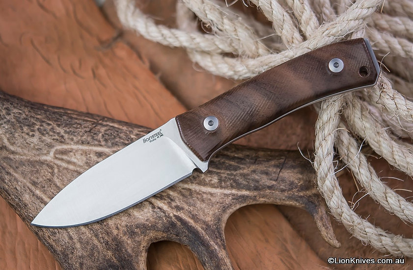 LionSteel M4 Walnut Wood, Lion Knives, LionSteel Knives Australia
