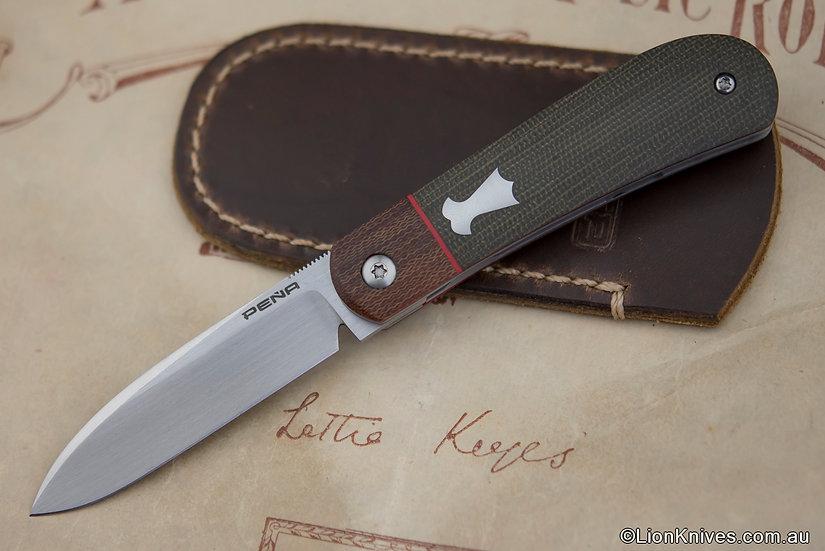 Enrique Pena, Enrique Pena Knives, Pena Zule Knife, Pena Custom knife, Pena Zulu