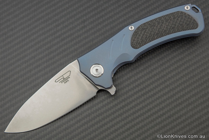 Stedemon Bastion Tactical Folding Knife S35VN Steel, Titanium & Carbon Fibre