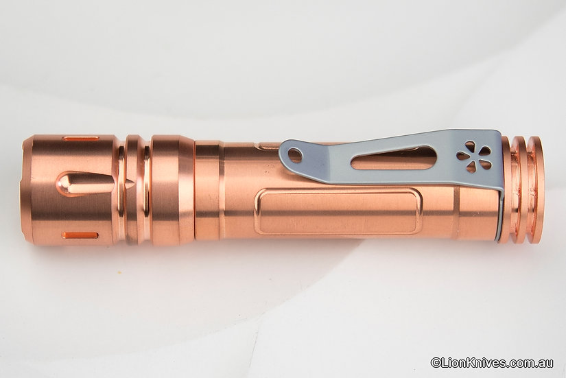 reylight LAN copper, Reylight LAN, Reylight flashlight, Reylight copper flashlight, custom flashlight,Reylight Australia