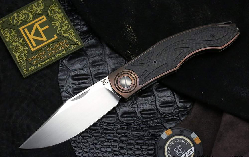 Custom Knife Factory Makosha, Lion Knives, Custom Knife Factory Australia, CKF Australia, CKF Lisichka, CKF Makosha