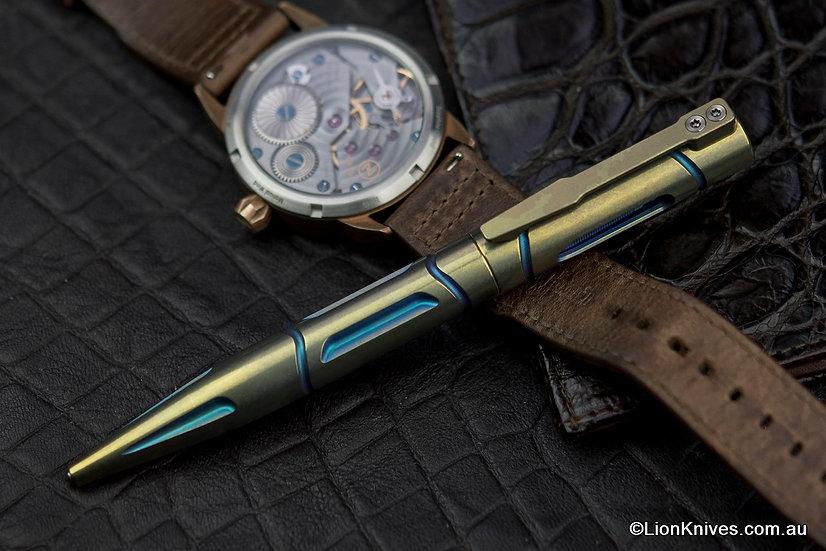titanium pen, EDC pen, tactical pen, Glass breaker pen