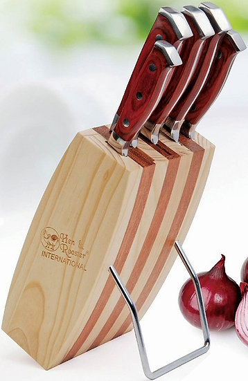 Hen & Rooster kitchen knife set, Hen & Rooster knives, kitchen knife, kitchen knives Australia, Kitchen knife set