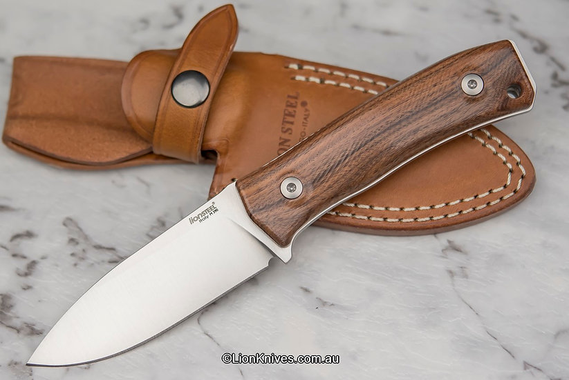 LionSteel M4 Santos Wood, Lion Knives, LionSteel Knives Australia
