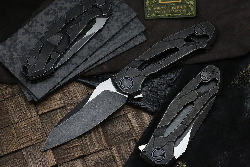 Custom Knife Factory T14, CKF Alexey Konygin, Lion Knives, Custom Knife Factory Australia, CKF Australia