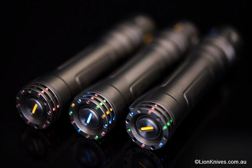 Reylight Ti LAN, Reylight LAN REV3, Reylight flashlight, Reylight Titanium flashlight
