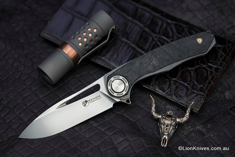 Venom Harpoon, Lion Knives, venom harpoon knife, venom knives
