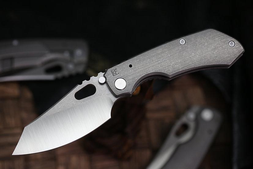 Custom Knife Factory Evolution, CKF Rotten Design, Rotten Design Evolution, CKF Rotten Design Collab, Evolution Knife