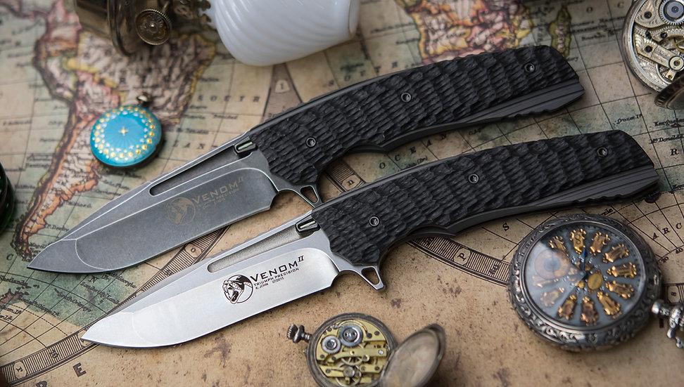 Venom II, Lion Knives, Kevin John Venom 2, Kevin john knives, Venom II knife