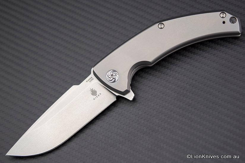 Kizer Mjolnir Flipper Knife Titanium Handle M390 Blade, Excellent Value