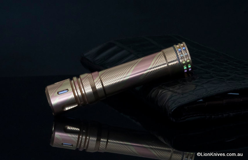 reylight mokume lan, reylight mokume flashlight, mokume flashlight