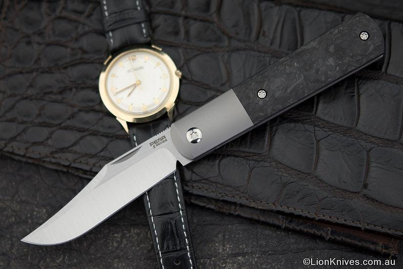 Pena X-series Barlow, Pena Barlow, Pena knives, Enrique Pena Knife, Pena Barlow knife
