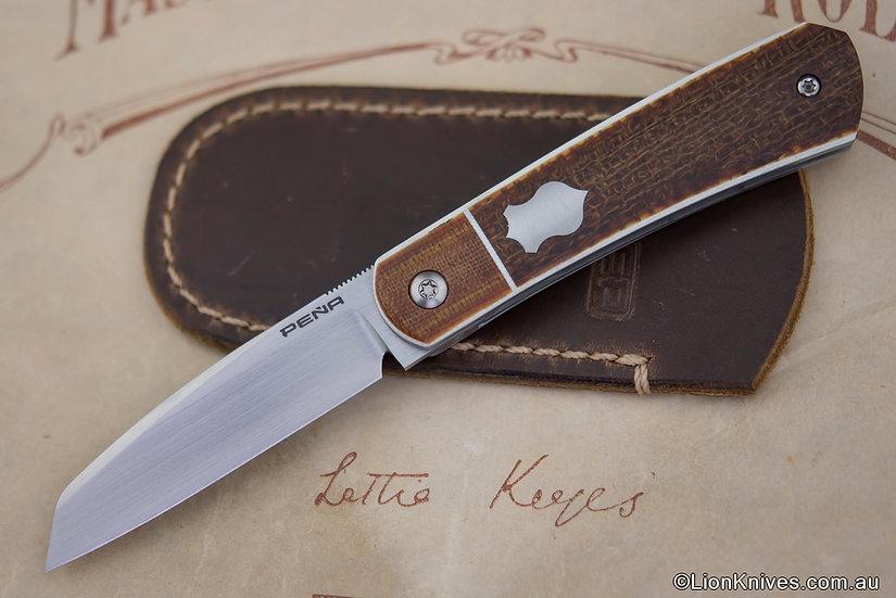 Enrique Pena, Enrique Pena Knives, Pena Apache Knife, Pena Custom knife, Custom Pena Knives