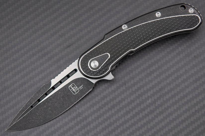 Todd Begg SteelCraft Series Mini Bodega Black Titaniumm Handle S35VN Blade