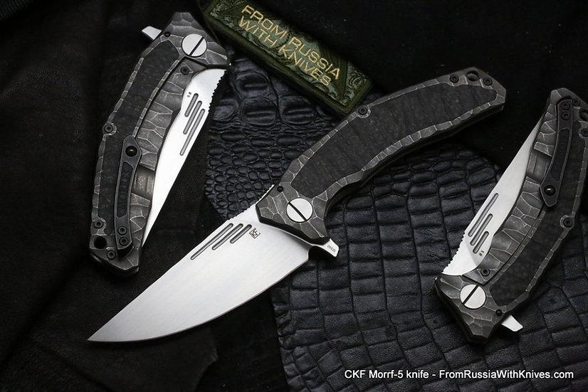 Custom Knife Factory Morf 5, CKF Morf 5, Lion Knives, Custom Knife Factory Australia, CKF Australia