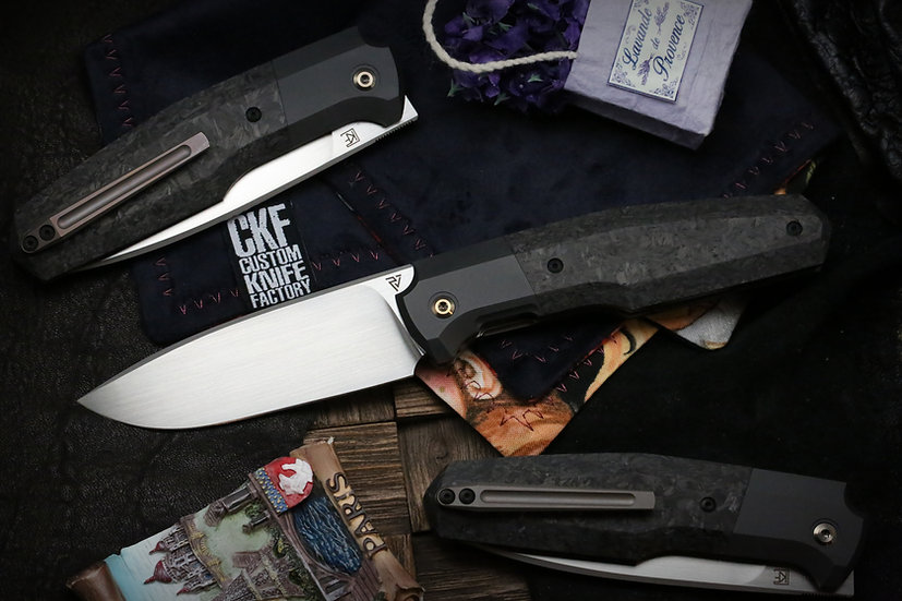 Custom Knife Factory FIF20, FIF20, CKF Philippe Jourget, Lion Knives, Custom Knife Factory Australia, CKF Australia