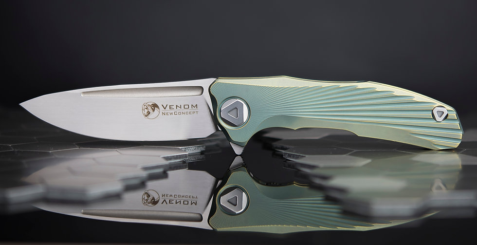 Venom New Concept, Lion Knives, Kevin John new concept, venom knives