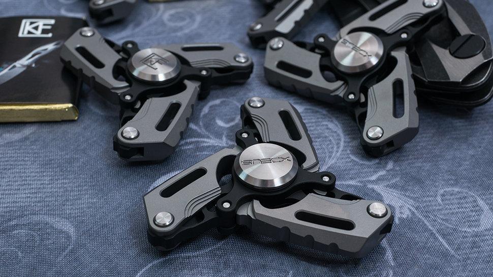 Custom Knife Factory Pepyakka S Spinner SNECX, Lion Knives, Custom Knife Factory Australia, CKF Australia