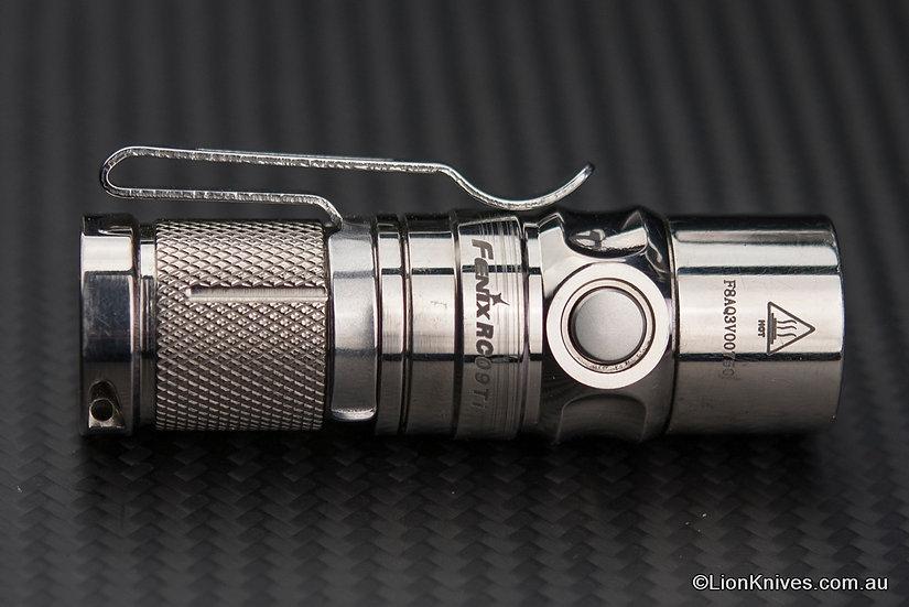 Fenix RC09Ti Limited Edition Titanium Flashlight Full Set
