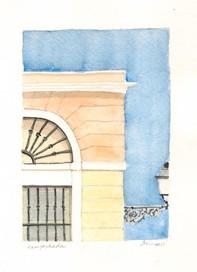 Old San Juan Facade