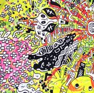 Hicoband「Hicoband  EP2」 ジャケット用イラスト(2013)