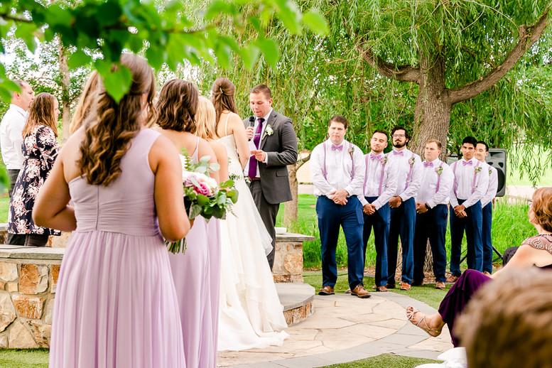 Hudson Gardens Littleton, Colorado wedding Pictures by Serendipity Studios Photography.