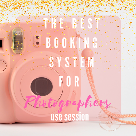 The best booking system for photographers with mini sessions