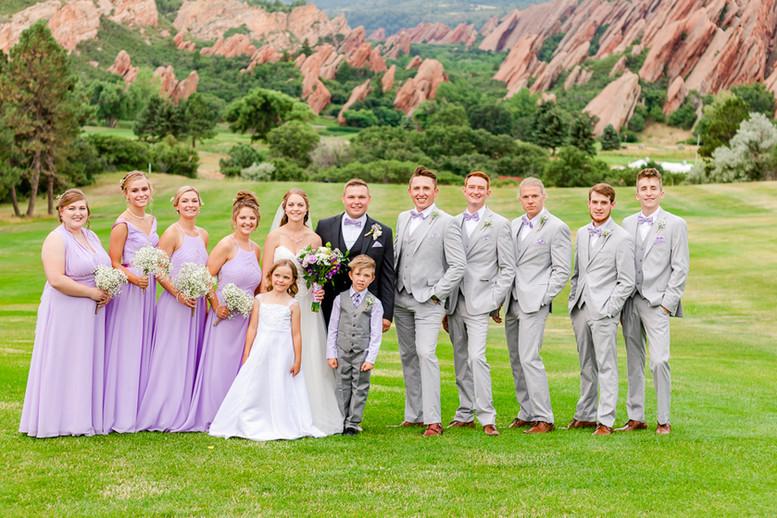 Colorado Weddings. Arrowhead Golf Club.