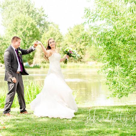A Gorgeous Summer Wedding at the Hudson Gardens in Littleton, Colorado