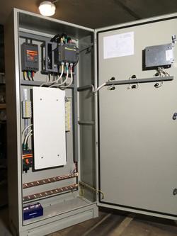 Силовой щит управления нагрузкой с учётом электрической энергии