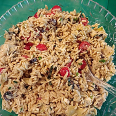 Mediterranean Pasta Salad with Orzo