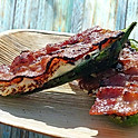 Jalapeño Boats with 3 Cheeses & Bacon