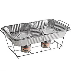 Wire Chafing Dish Set-Up
