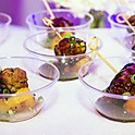 Asian Meatball and Grilled Pineapple Skewers
