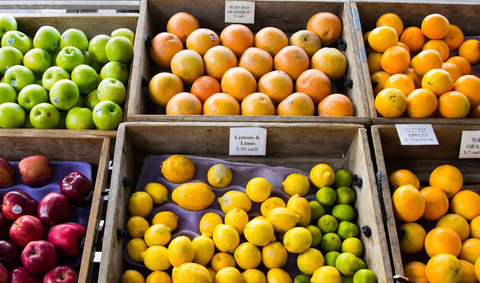 Rosemary & Roux uses the freshest produce