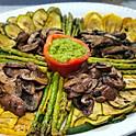 Grilled Marinated Vegetables, Served Chilled