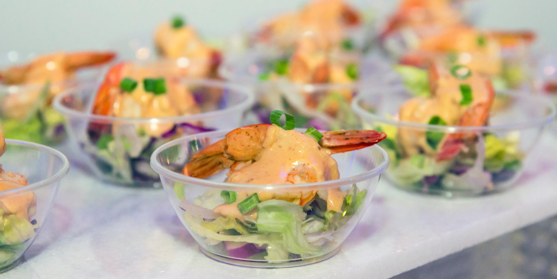 Jumbo shrimp remoulade