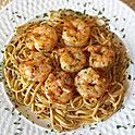 BBQ Shrimp Linguini