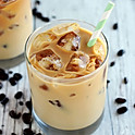 Unsweetened Iced Cafe au Lait (1 GALLON)