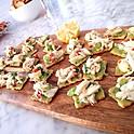 Lump Crab Salad on Avocado Toast