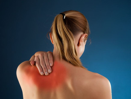 """""""I Cant Get Rid of the Knot Between My Shoulder Blades"""""""