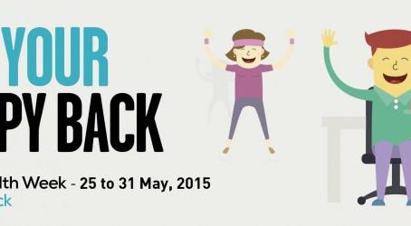 Spinal Health Week 2015 - 25-31 May