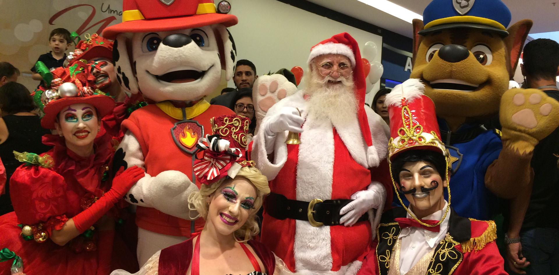 Papai Noel no Shopping