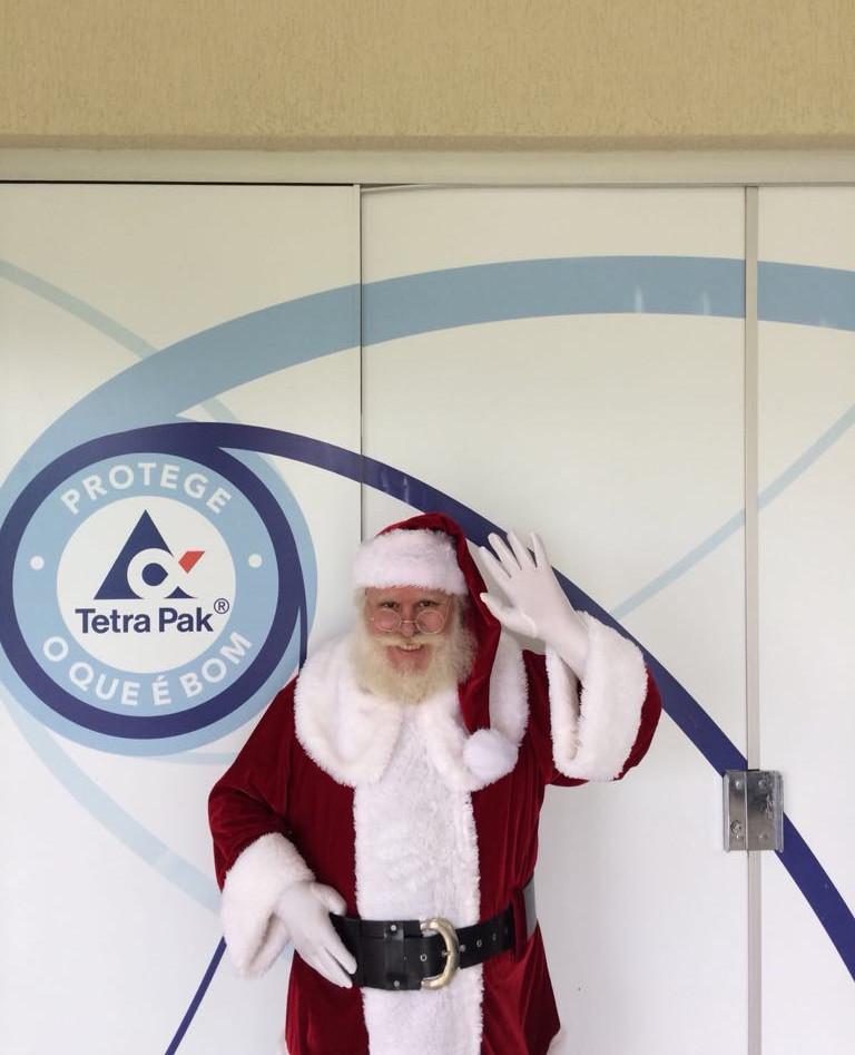 Papai Noel Tetra PAK