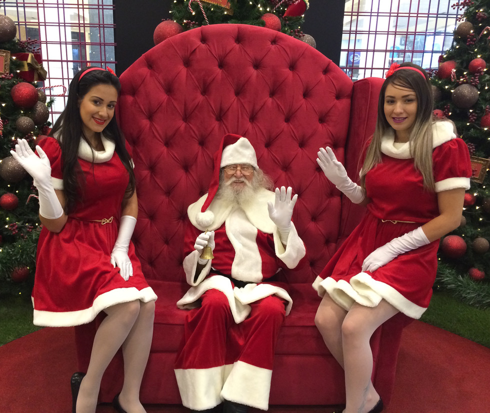 Papai Noel e Noeletes