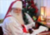 Papai Noel de barba natural