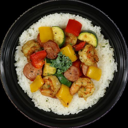 Cajun Shrimp & Veggies