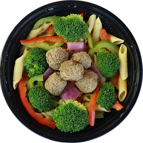 Turkey Meatballs & Veggies