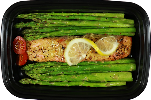 Lemon Pepper Garlic Salmon
